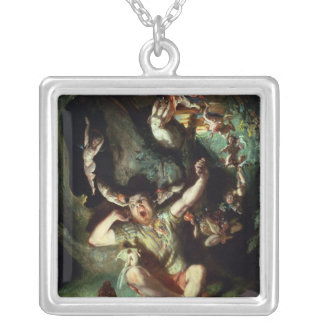 The Disenchantment of Bottom Square Pendant Necklace