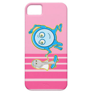 The Dish Ran Away With The Spoon Funny Cartoon iPhone SE/5/5s Case