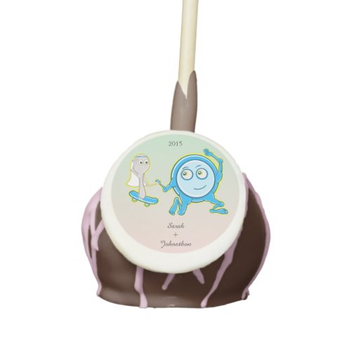 The Dish Ran Away With The Spoon Wedding Favor Cake Pops