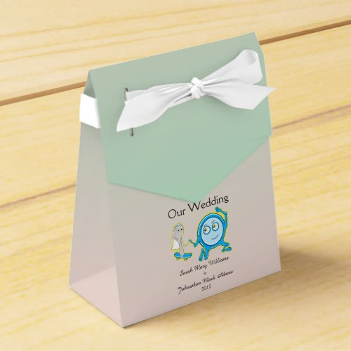 The Dish Ran Away With The Spoon Wedding Favor Party Favor Boxes
