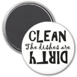 The Dishes Are . . . Clean or Dirty? Magnets