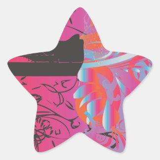 The Disparity Star Sticker