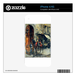 The Dispatch Bearer by Giovanni Boldini Decal For The iPhone 4
