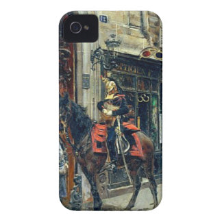 The Dispatch Bearer by Giovanni Boldini iPhone 4 Case-Mate Cases