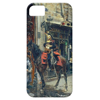 The Dispatch Bearer by Giovanni Boldini iPhone SE/5/5s Case