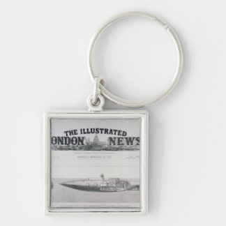 The Displacement Sinking and Rising Submarine Keychain