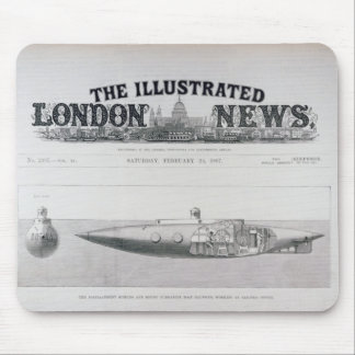 The Displacement Sinking and Rising Submarine Mousepads