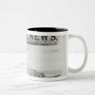The Displacement Sinking and Rising Submarine Two-Tone Coffee Mug