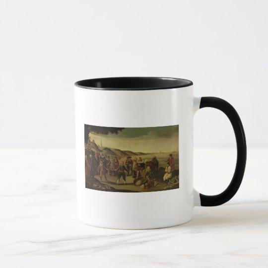 The Dispute over the Golden Baton Mug