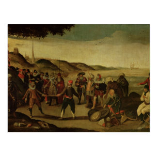 The Dispute over the Golden Baton Postcard