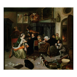 The Dissolute Household, 1668 Poster