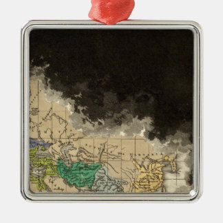 The Dissolution of the Western Empire 476 AD Christmas Tree Ornaments