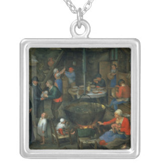 The Distinguished Visitor Silver Plated Necklace