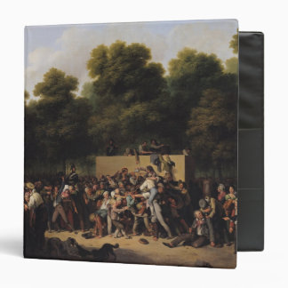 The Distribution of Food and Wine 3 Ring Binder