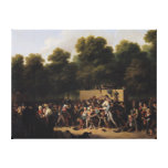 The Distribution of Food and Wine Gallery Wrapped Canvas