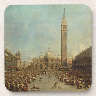 The Distribution of the Denarii to the Poor in San Drink Coaster