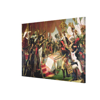 The Distribution of the Eagle Standards Canvas Print