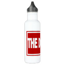 The District Water Bottle (24 oz), Stainless Steel