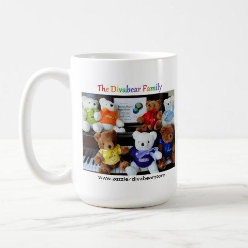 The Divabear Family Mug