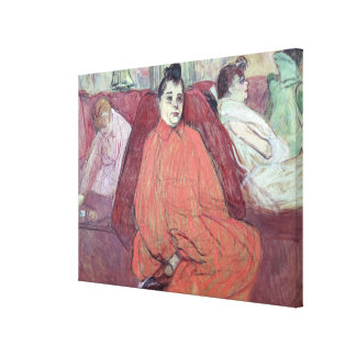 The Divan, 1893 Stretched Canvas Prints