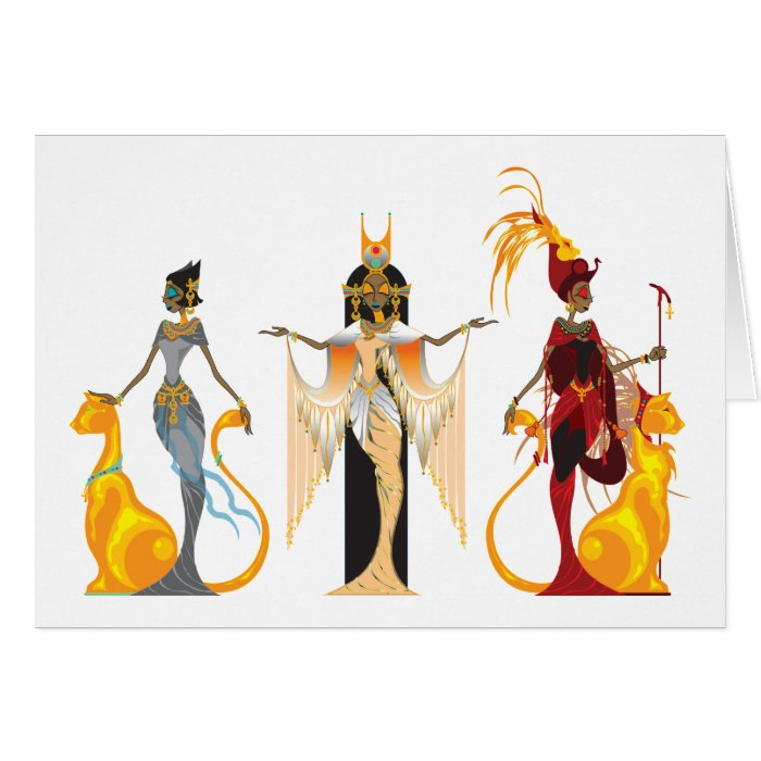 The Divas of Egypt Cards