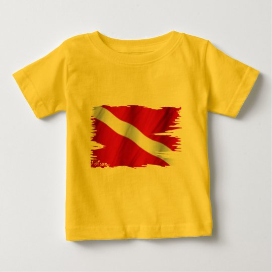The Dive Flag Collection Baby T-Shirt