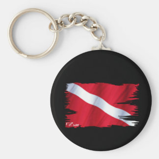 The Dive Flag Collection Keychain