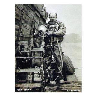 The Diver Postcard
