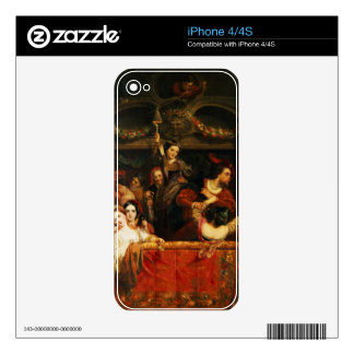 The Diversion of the Moccoletti - The Last Gay Mad iPhone 4 Decal