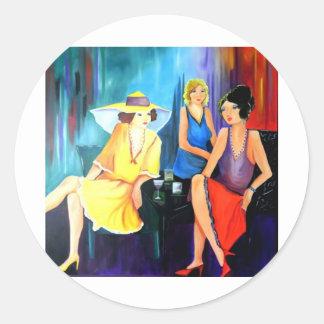The Divine Divas 002.JPG Classic Round Sticker