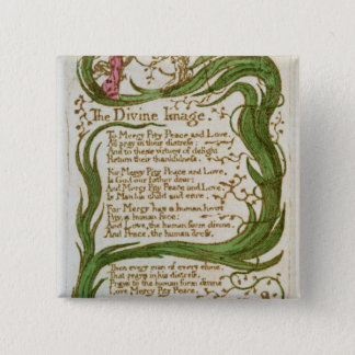 The Divine Image, from Songs of Innocence, 1789 Pinback Button