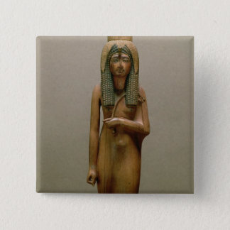 The divine queen Ahmose Nefertari (painted wood) Button