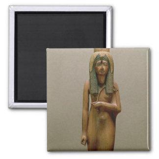 The divine queen Ahmose Nefertari (painted wood) Magnet