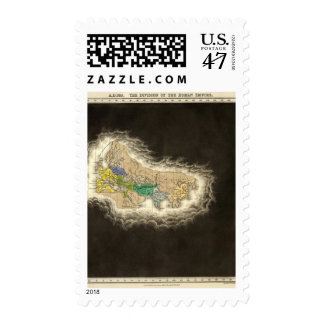 The Division of The Roman Empire 395 AD Stamp