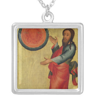 The Division of the Waters from the High Altar Silver Plated Necklace