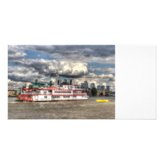 The Dixie Queen Paddle Steamer Card