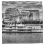 The Dixie Queen Paddle Steamer Printed Napkins