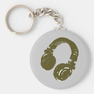The DJ keys Keychain