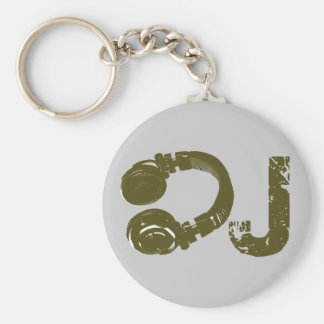 The DJ list Keychain