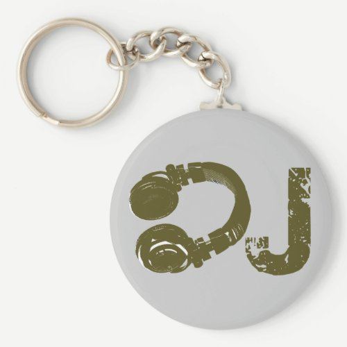 The DJ list Keychain