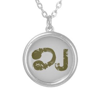 The DJ list Silver Plated Necklace