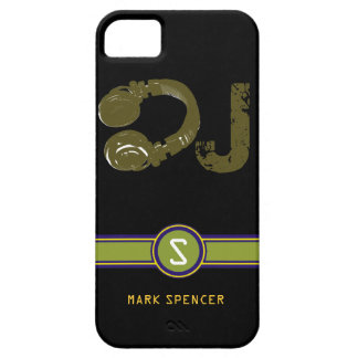 the DJ name initial iPhone 5 Case