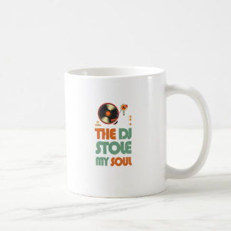The DJ stole my soul Coffee Mug
