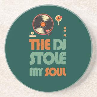 The DJ stole my soul Drink Coaster