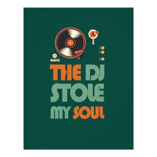 The DJ stole my soul Letterhead