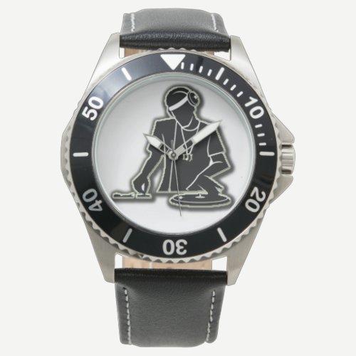 the DJ Wrist Watch