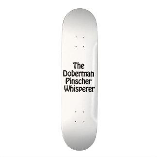 the doberman pinscher whisperer skateboard decks