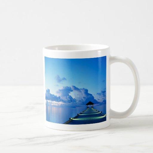 The Dock Classic White Coffee Mug