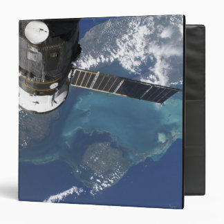 The docked Progress 22 spacecraft 3 Ring Binder