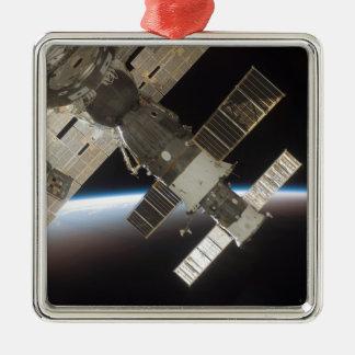 The docked Soyuz 13 Metal Ornament